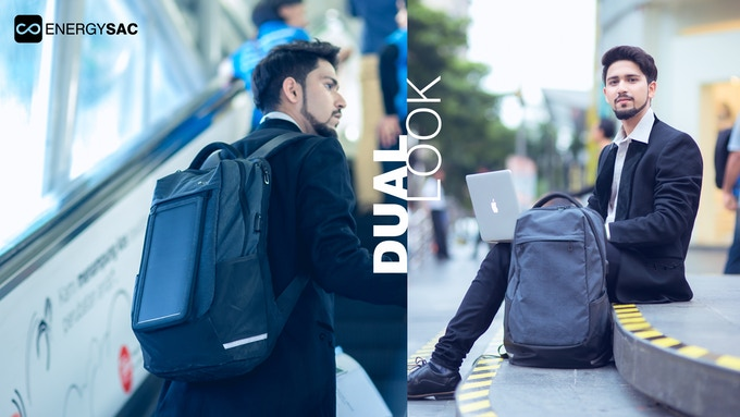 Energysac The World S Smartest Backpack By D Code