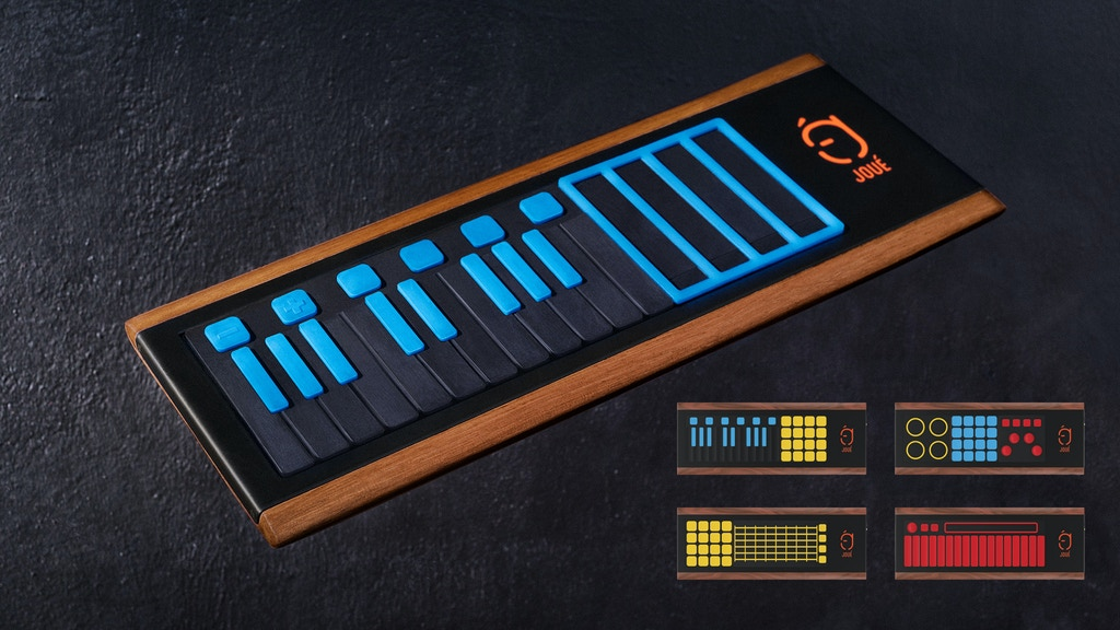 JOUÉ - The most Expressive and Modular MIDI controller project video thumbnail