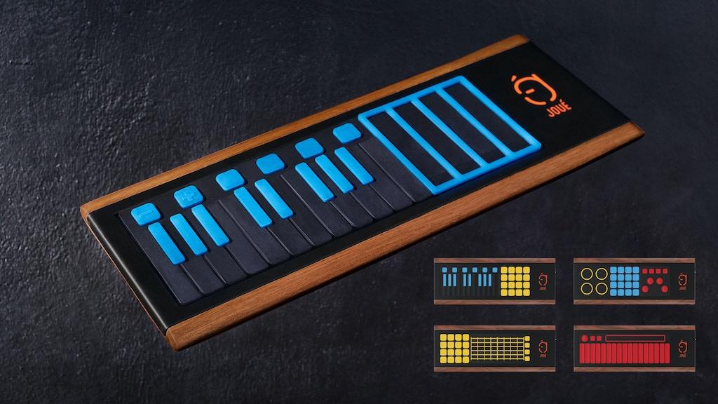 Miniature de la vidéo du projet JOUÉ - The most Expressive and Modular MIDI controller