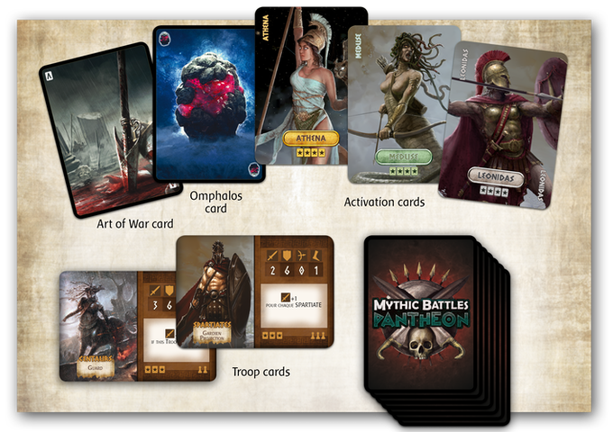 Activation cards allow you to activate the illustrated unit on your turn. Art of War cards work kind of like Jokers.