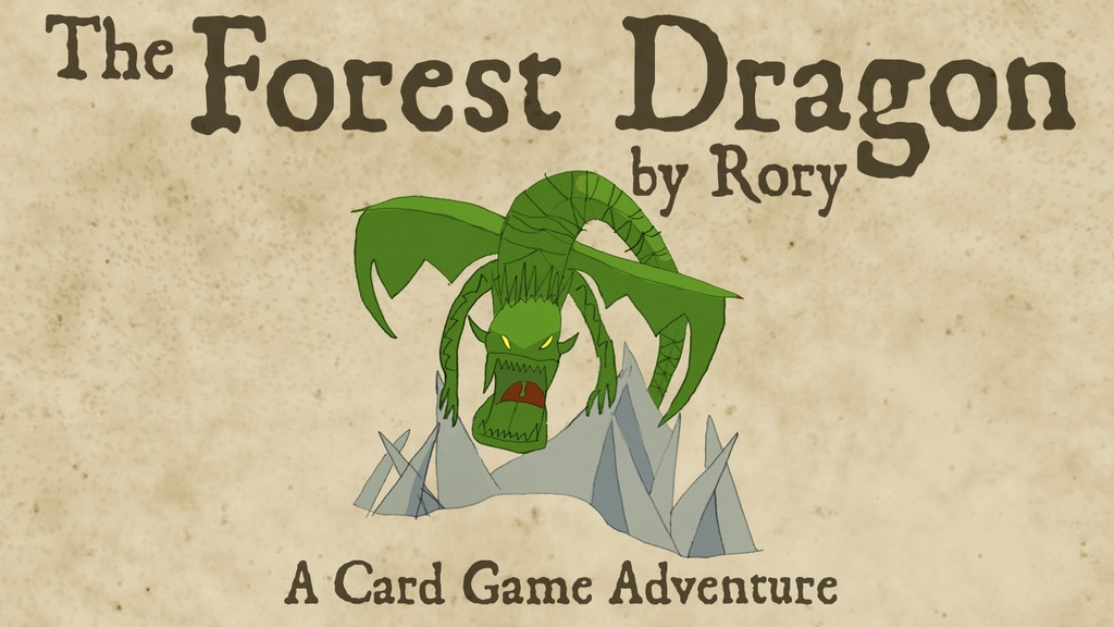 The Forest Dragon Card Game by Rory project video thumbnail