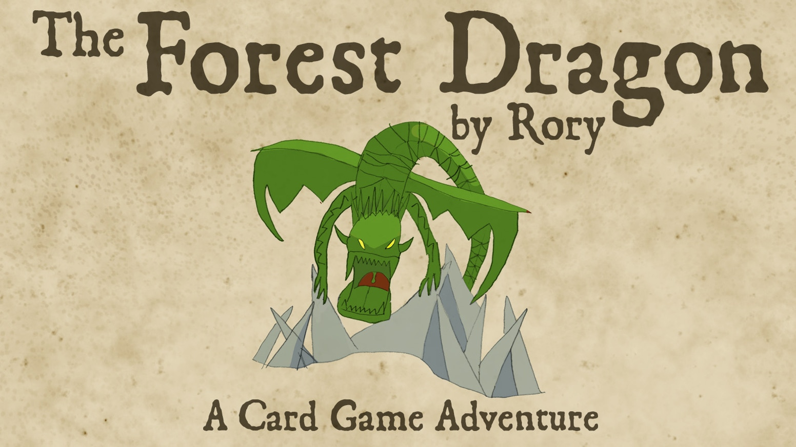 Designed by Rory, aged 9, The Forest Dragon is a fast and fun card game, as well as a journey for this fledgling designer.