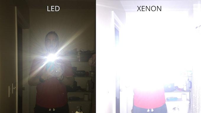 LED vs Xenon Flash
