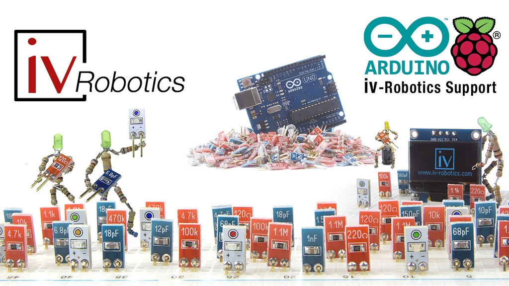 iv-Robotics, First Resistors&Capacitor adapted to Breadboard project video thumbnail