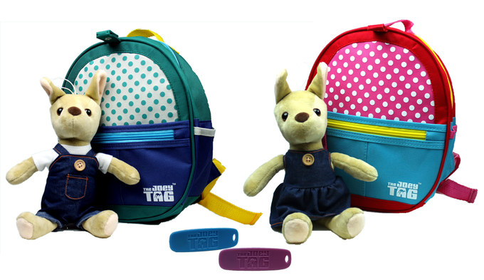 The Joey Tag Plush, Backpack & Key Chain