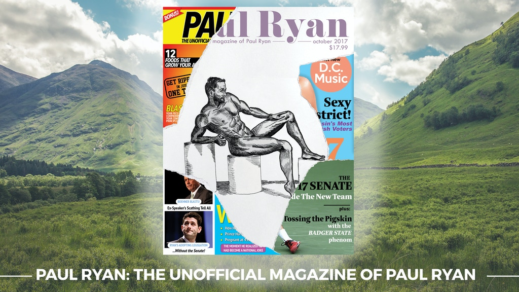 Paul Ryan: The Magazine project video thumbnail