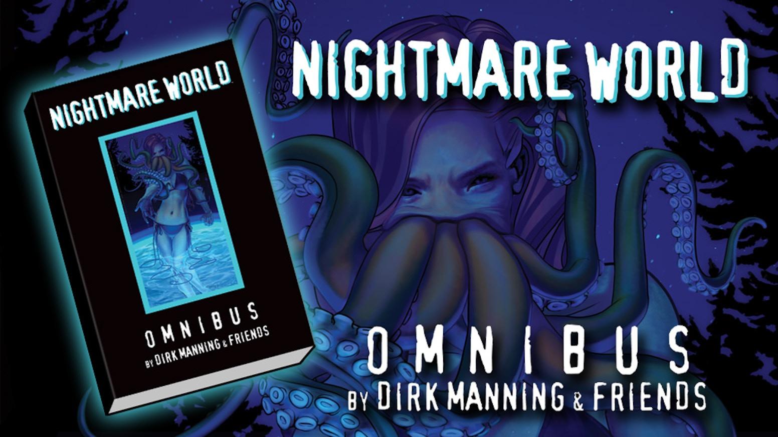 NIGHTMARE WORLD OMNIBUS (including NIGHTMARE WORLD Vol 4