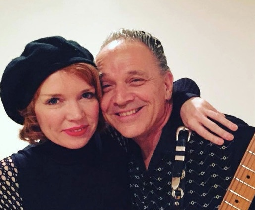 w/ the great, Jimmie Vaughan