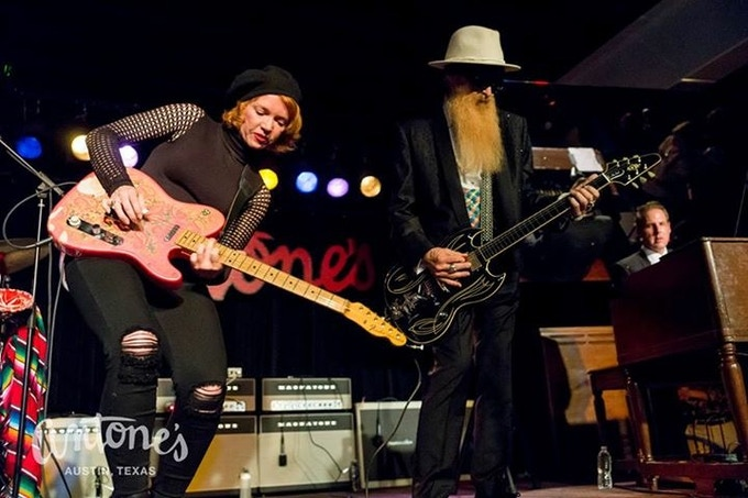 Getting down with Billy Gibbons