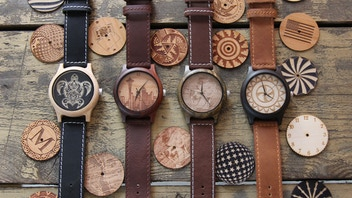 WOODBURN WATCHES: Custom Made Laser Engraved Wooden Watches