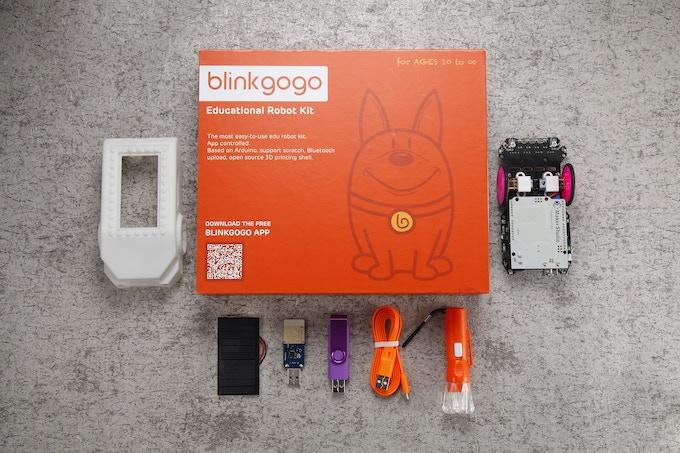 Blinkgogo: Wireless Programming Arduino, Robot Learn & Play