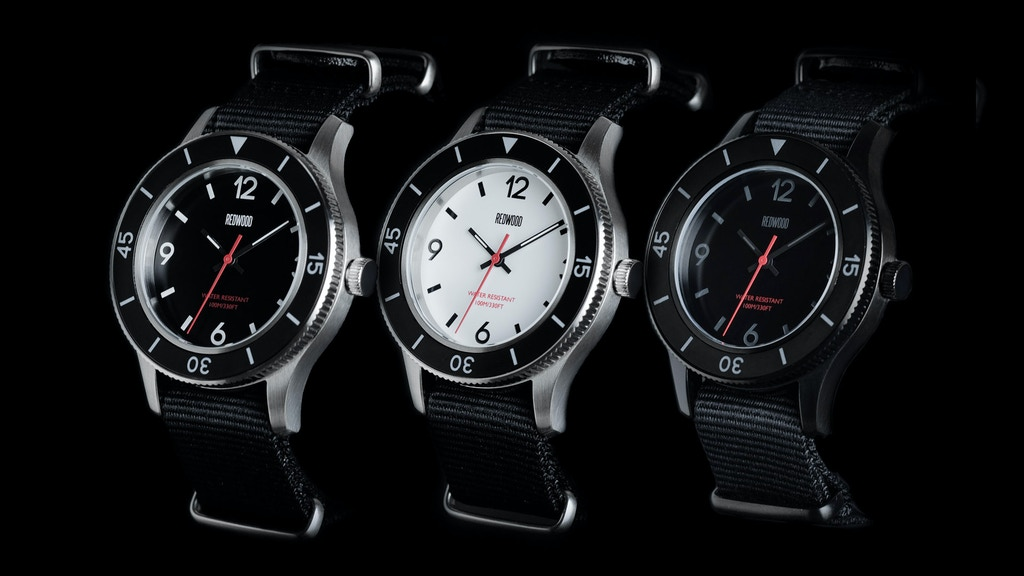 Redwood Tactical Watches project video thumbnail