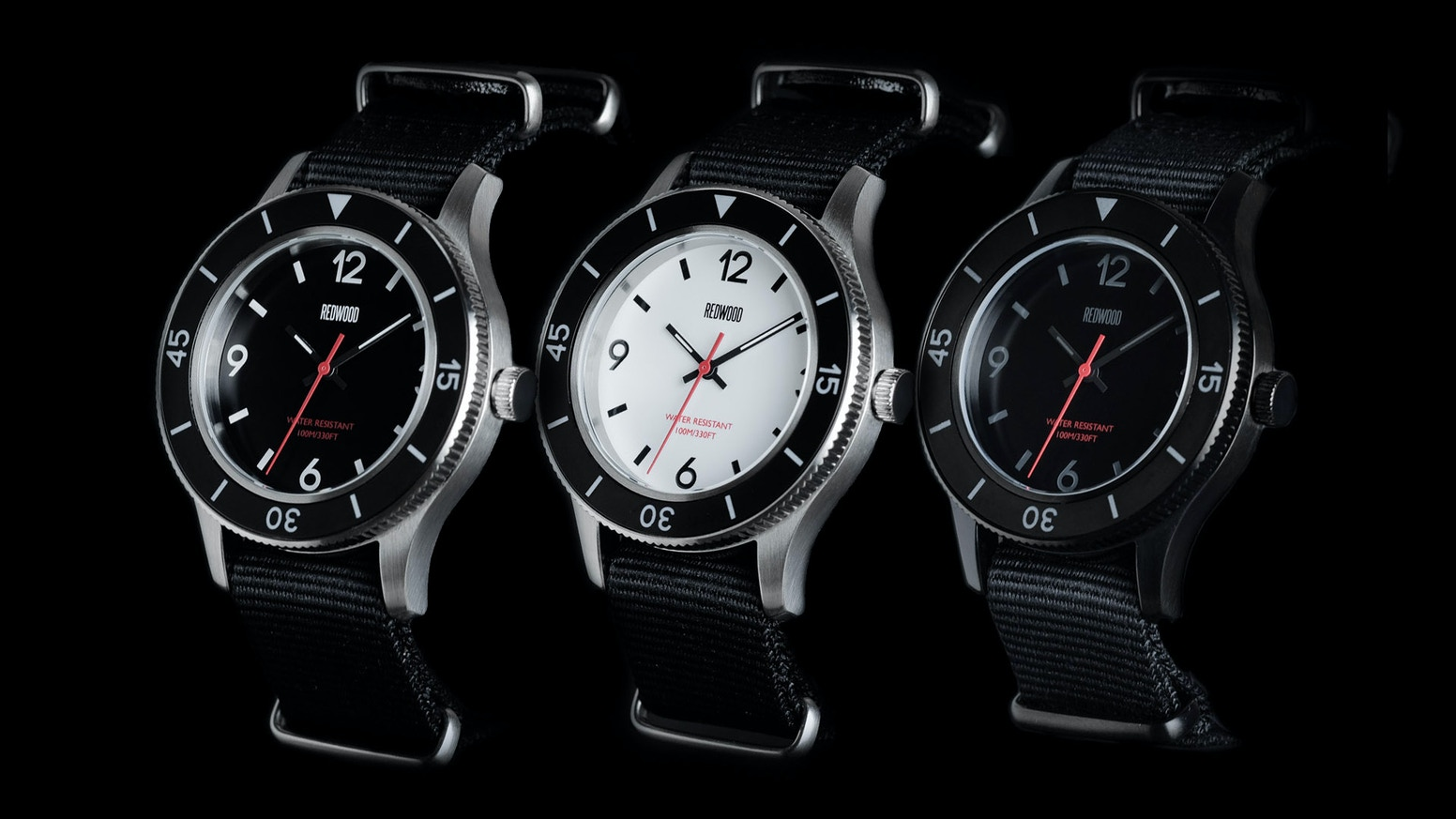3 Models Inspired by Post-WW2 Vintage Diver Watches. Functional. Rugged. Crazy Value. Mission: Tactical