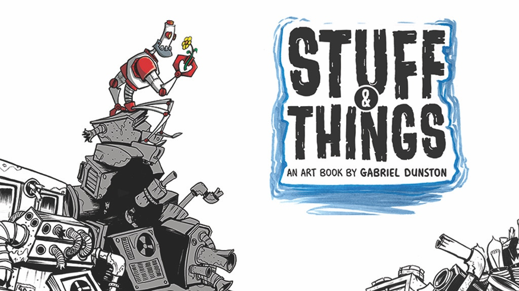 Stuff and Things (Art Book) project video thumbnail