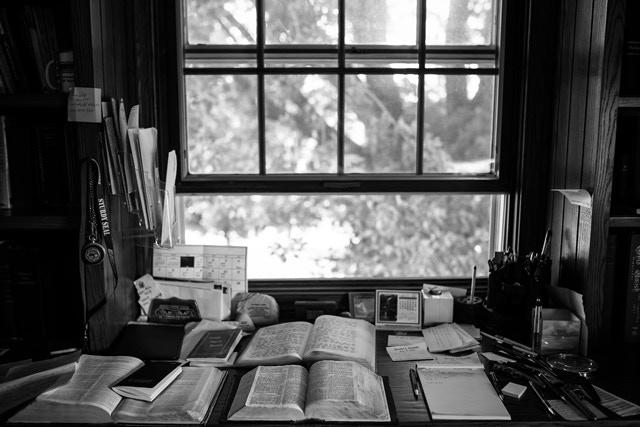 The Bishop's Study