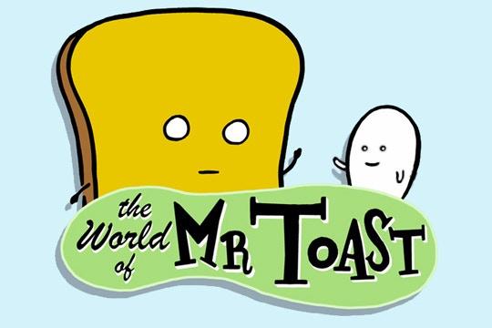 Dan Goodsell's Mr. Toast!
