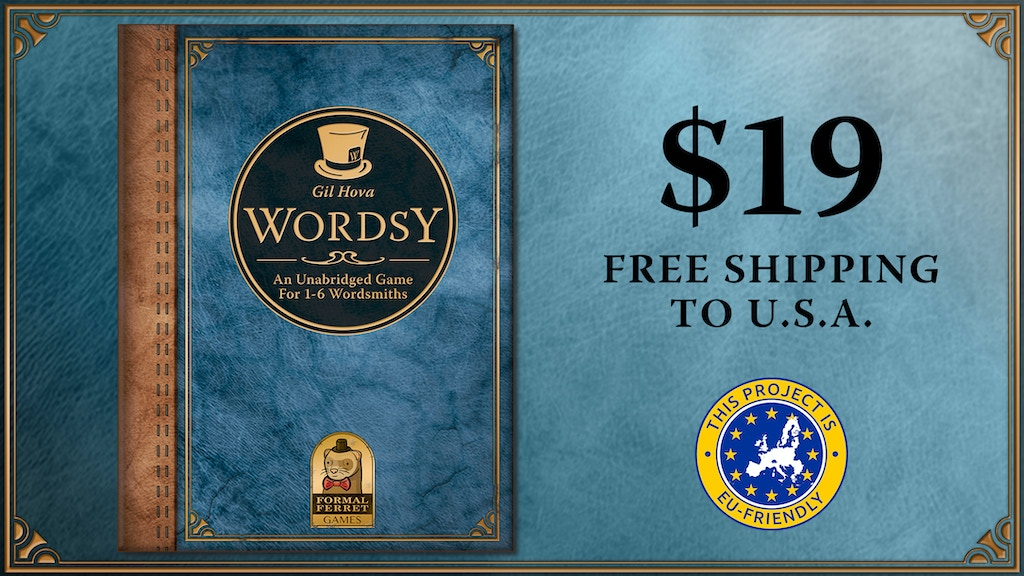 Wordsy: An unabridged tabletop game for 1-6 wordsmiths project video thumbnail