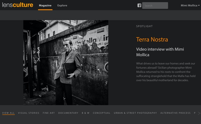 Terra Nostra Spotlight Feature on LensCulture