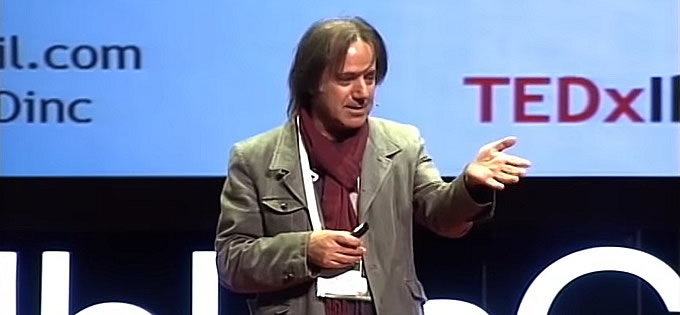 Mev gives a talk about his fascinating career at TEDx