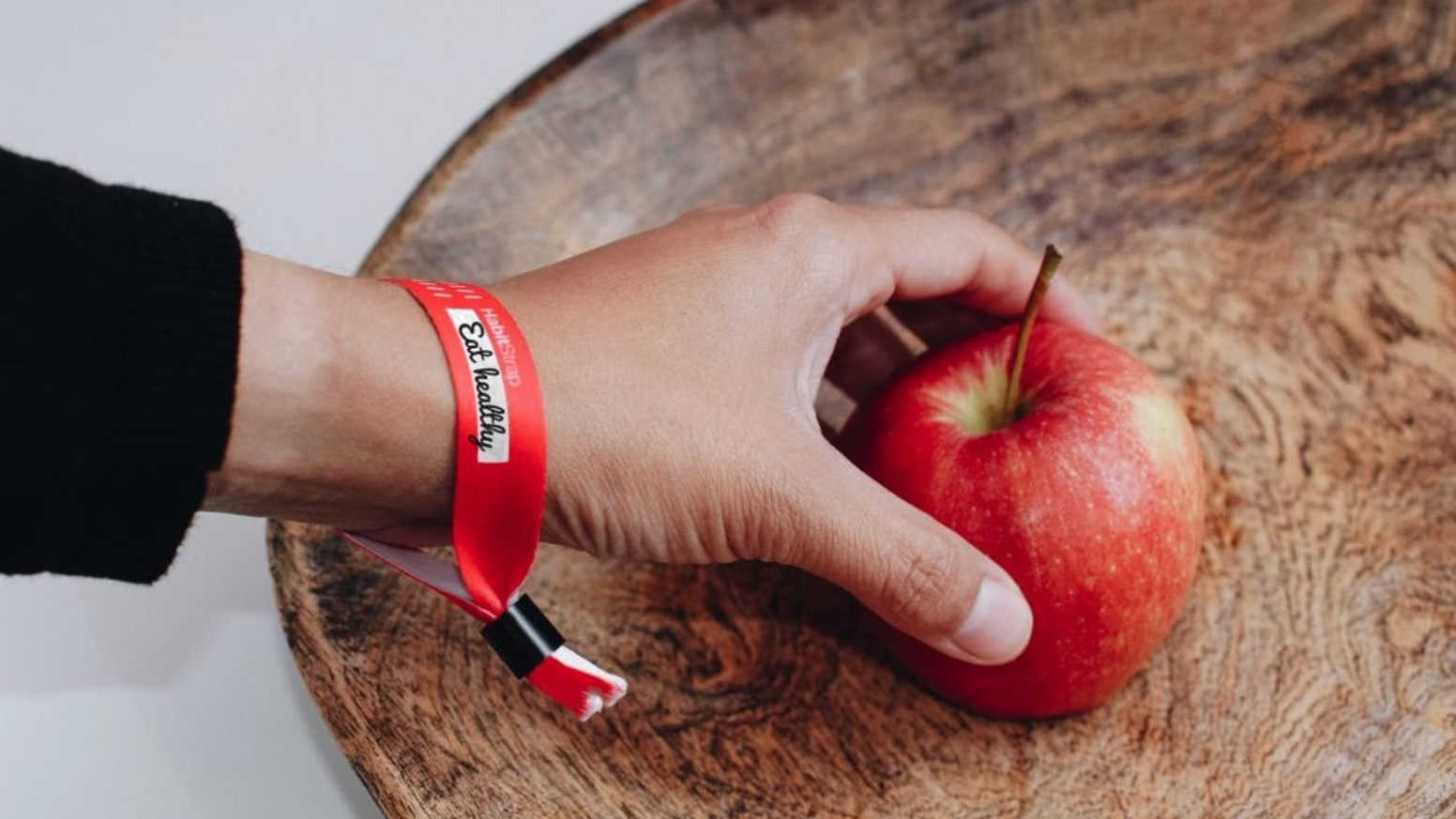 HabitStrap is a single use wristband to shape good habits in 66 days. It is worse than your mom and cheaper than any coach.