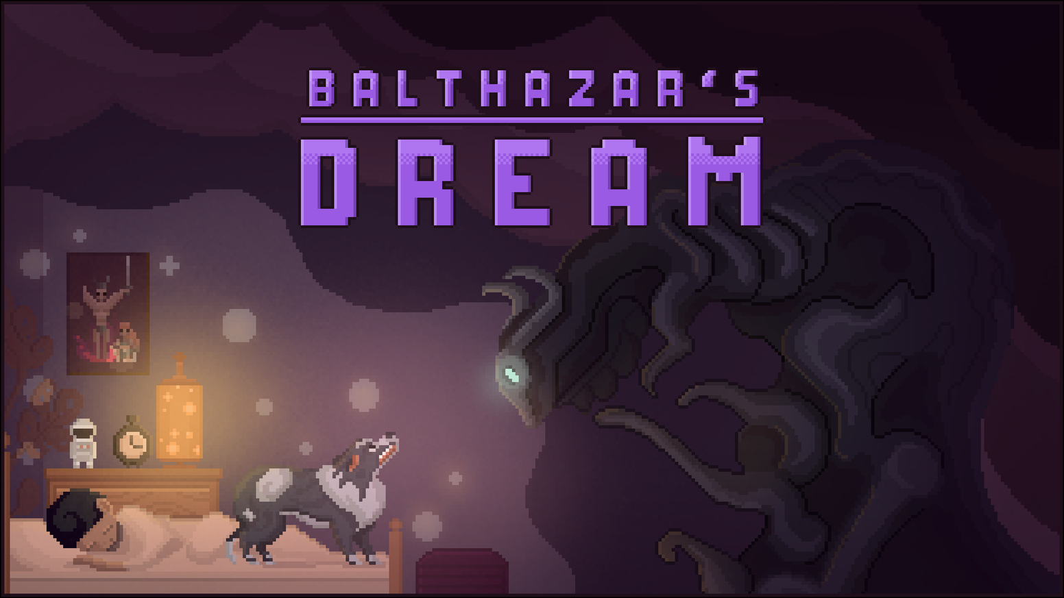 Visit a wonderfully peculiar dog's dream in a heroic attempt to save your owner in this beautiful pixel art puzzle platformer.