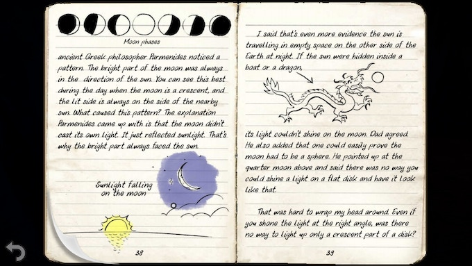 Sample entry from Kai's journal