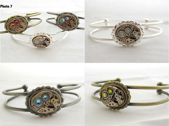 Photo #7 cuff bracelets samples