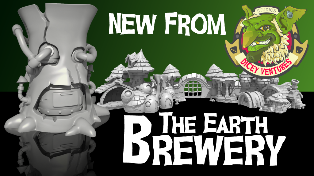 Earth Brewery: A 3D Printed Tabletop Terrain Miniature project video thumbnail