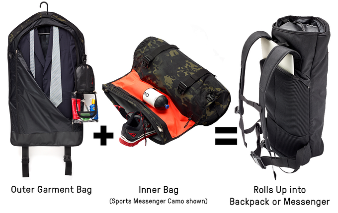 Two awesome bags in one!