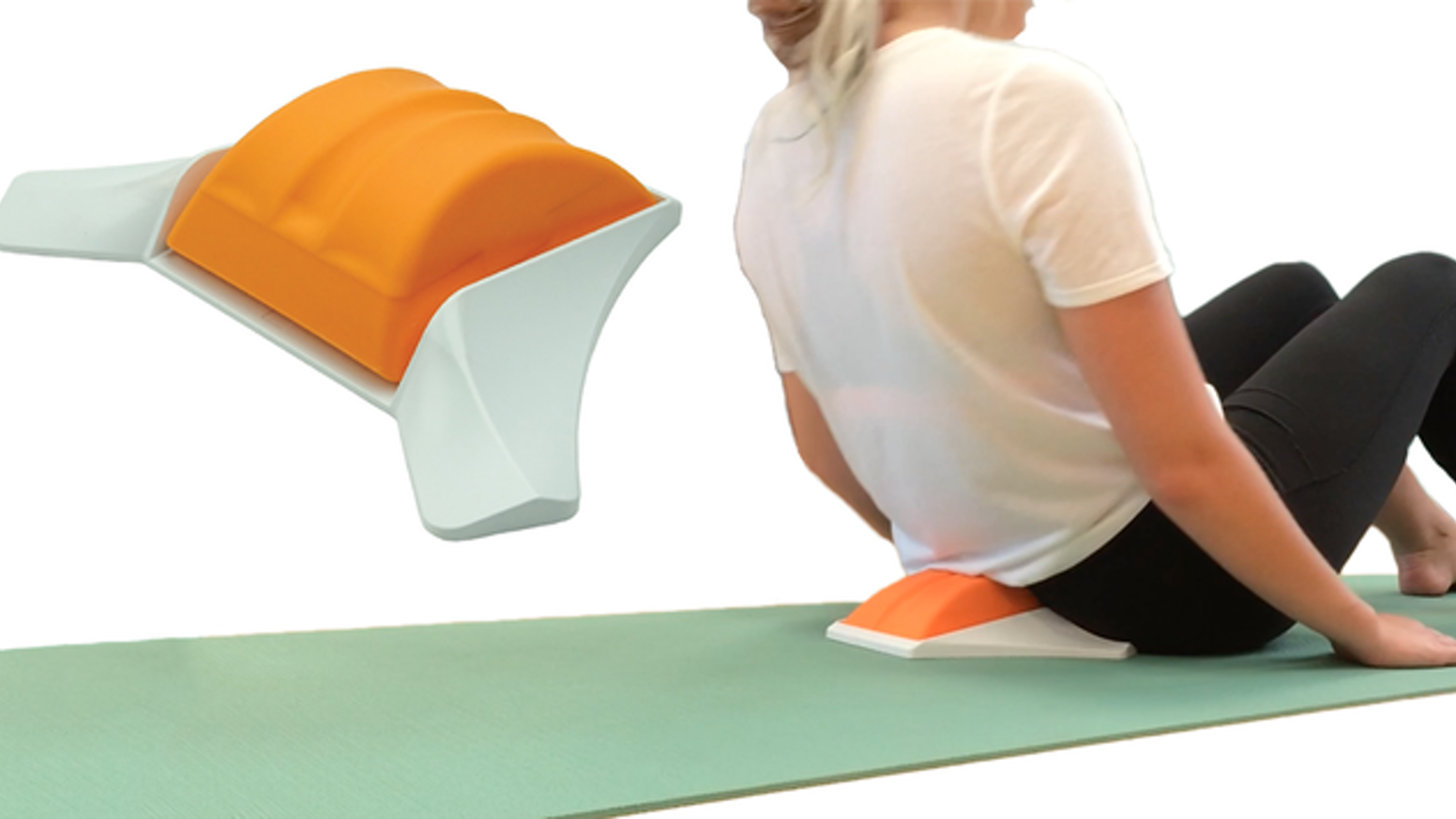 Rest Your Discs for 10 mins. It helps improve your posture, ease back pain & improve your health.