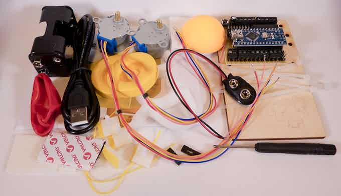 The ingredients for a robot