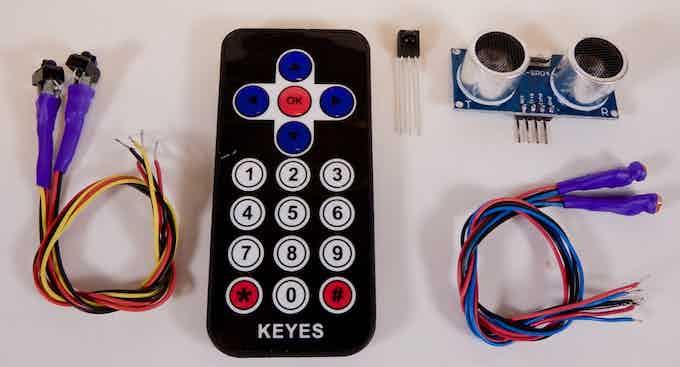 The sensor kit