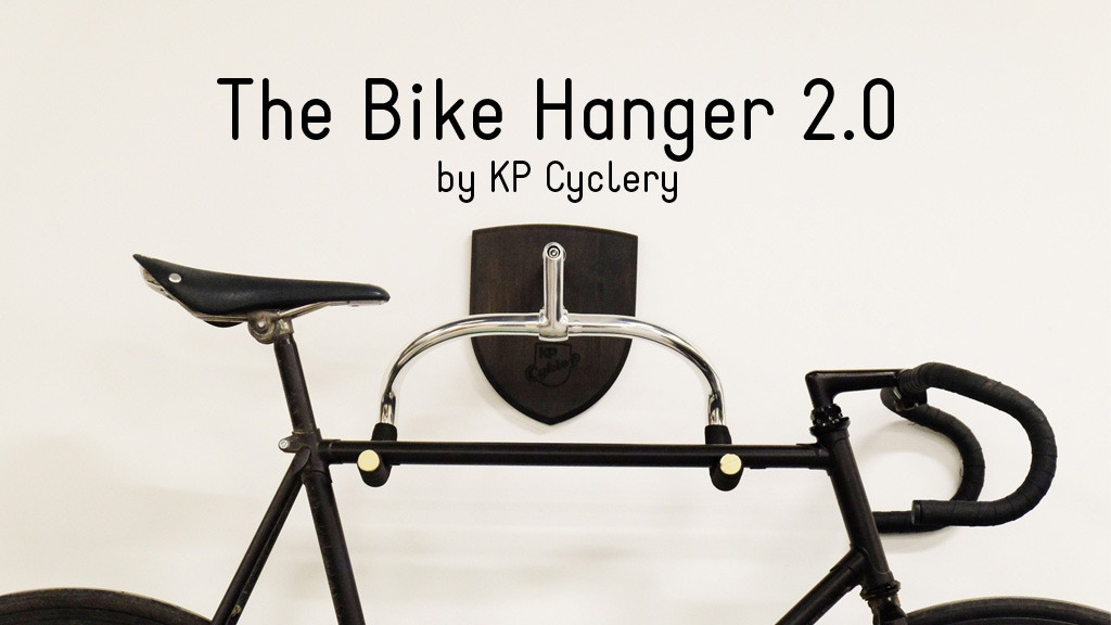 The Bike Hanger 2.0 - Beautiful Bicycle Storage project video thumbnail