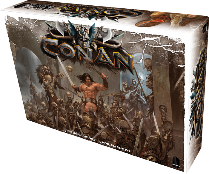 Relive the epic saga of Conan and his companions in a boardgame inspired by the writings of Robert E. Howard. For 2 to 5 players.