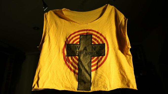 Original COG shirt worn and cut by Jarboe