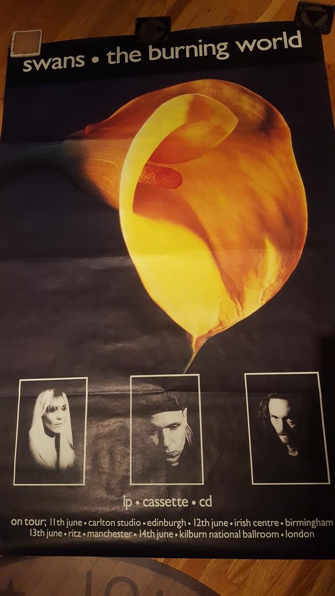 The Burning World giant poster 3x5ft