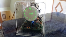 The Oscilloscope Clock IV - analog version for large CRTs
