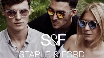 Quality Customisable Sunglasses by Staple and Ford