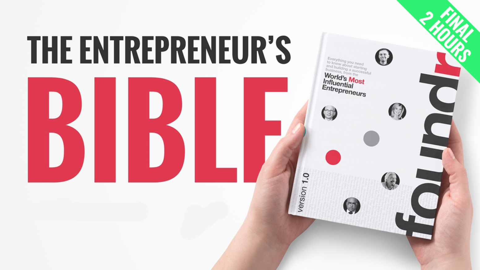 Get access to the top lessons, tips, and advice from the world's greatest entrepreneurs compiled into one beautifully designed book.
