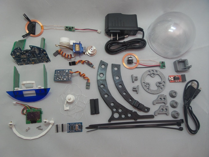 Unassembled Cosmoneer Proto Kit