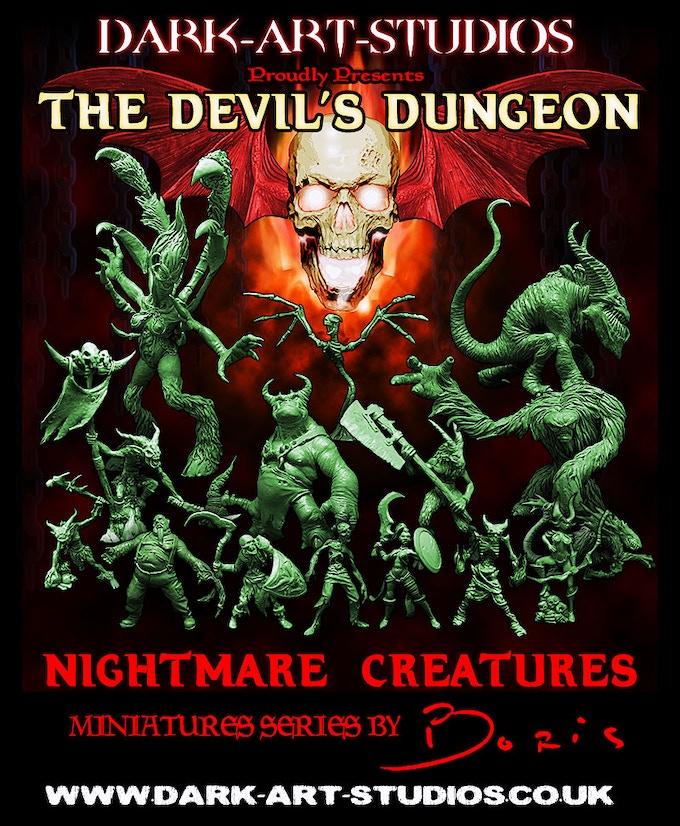 Devil's Dungeon - Nightmare Creatures by Dark-Art-Studios