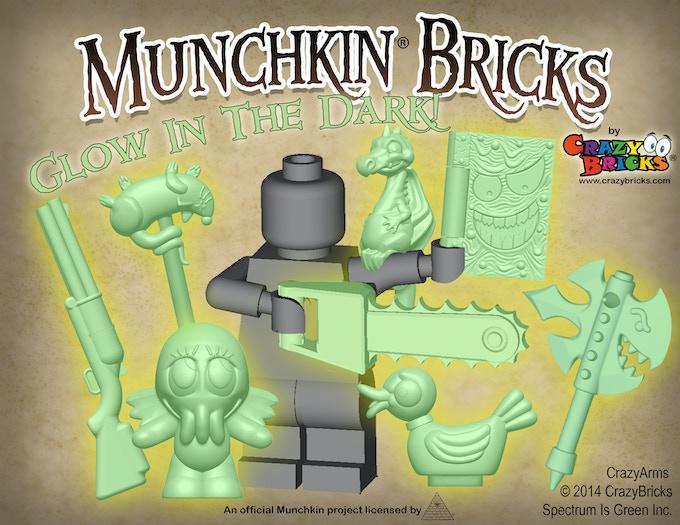 Munchkin Bricks by Crazy Bricks