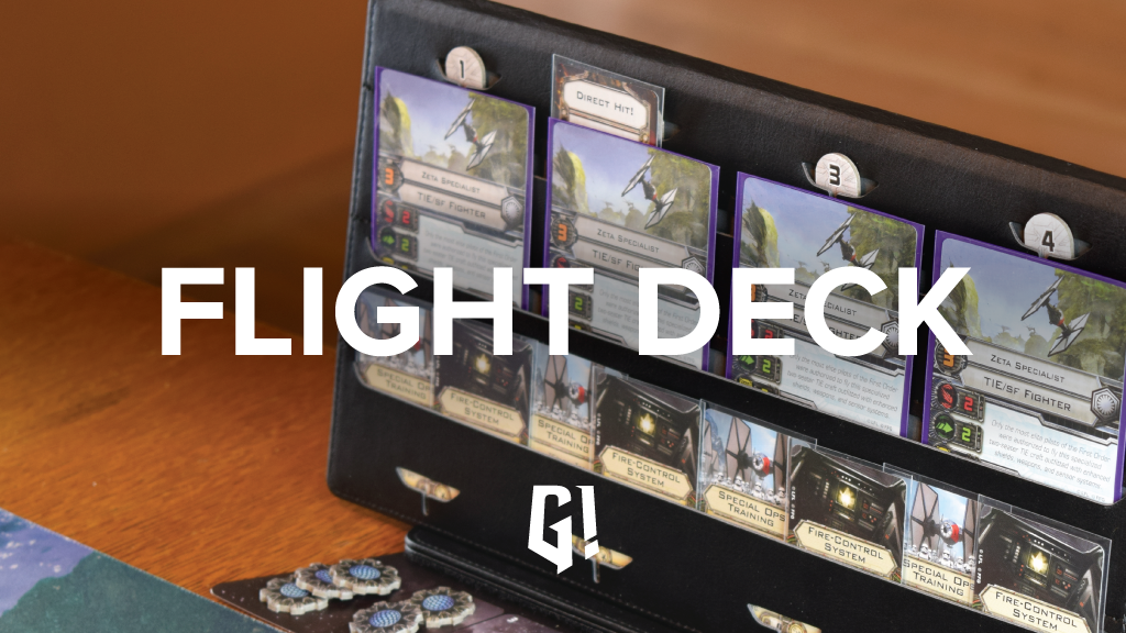 FLIGHT DECK - Tabletop Control Panel & Card Case project video thumbnail