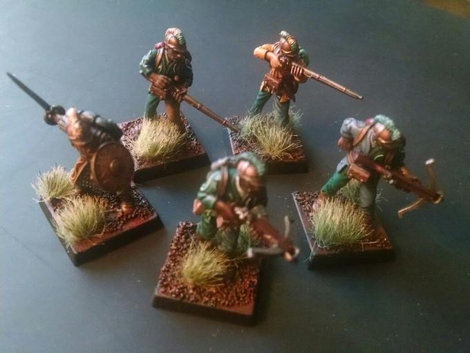 Dumerai Rangers (Painted by Weston Hempfield)