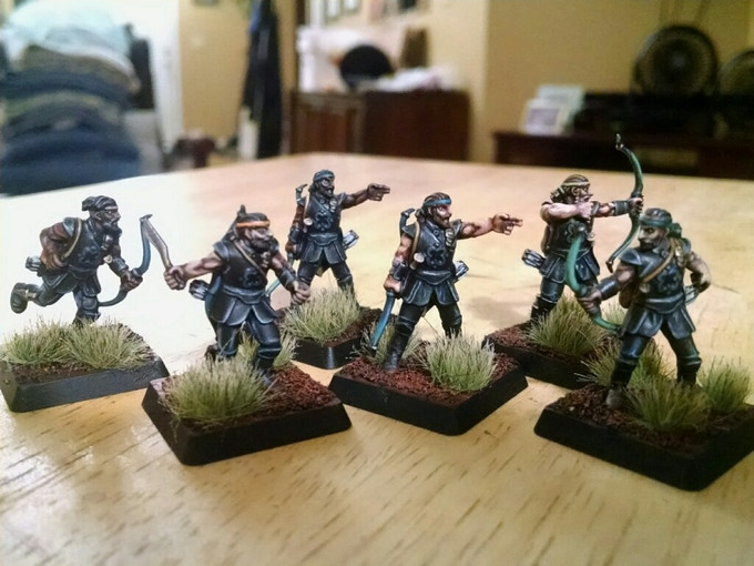 Rapani Warriors (painted by Weston Hempfield)