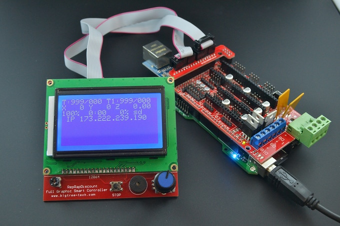 Re-ARM with RRD Graphic LCD