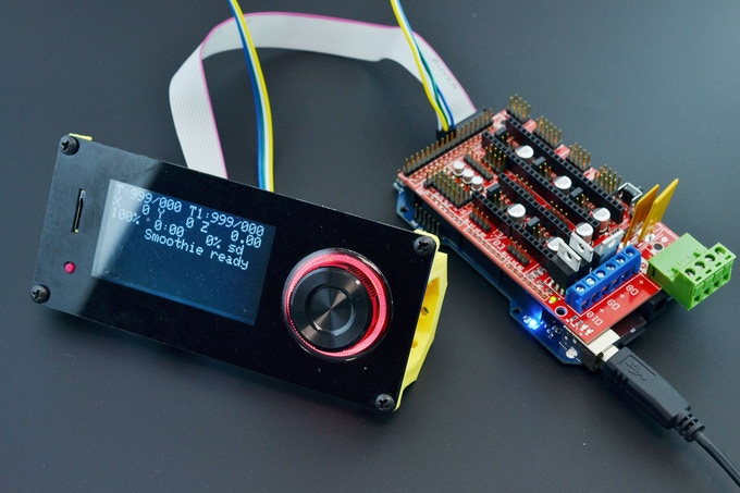 Re-ARM with Panucatt Viki2 LCD