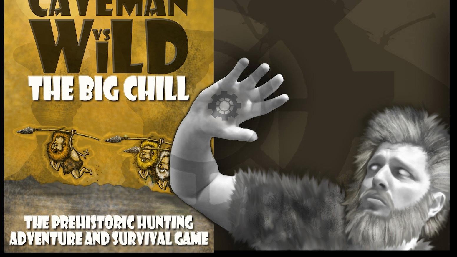 Caveman Questions : Flytrap factory presents 'caveman vs wild: the big chill' by anton