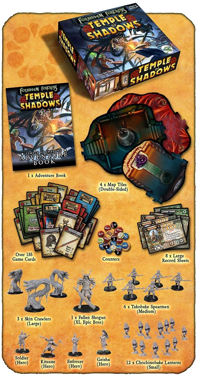Shadows of Brimstone: Forbidden Fortress Ding&Dent (Kickstarter Pre-Order  Special)