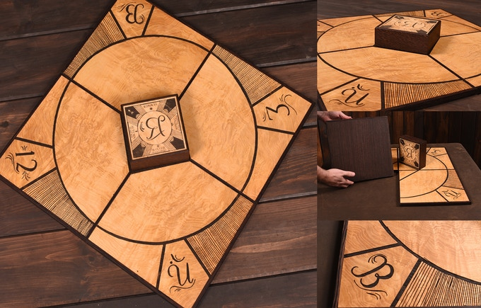 The Captain's Illimat- Click image to view the details of this handcrafted version